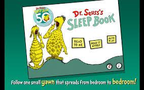 Dr Seuss Bedroom Amazon Com Dr Seuss U0027s Sleep Book Appstore For Android