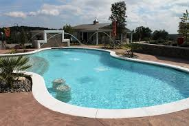 backyard inground pool designs an ideal shape for swimmers