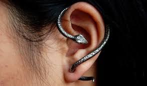earrings that go up the ear hisssssterically awesome snake earrings the beading gem s