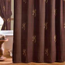 Burgandy Shower Curtain Black Bears Shower Curtain Cabin Place