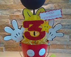 mickey mouse center pieces mickey mouse cupcake stand baby mickey mouse centerpiece