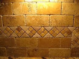 kitchen stone subway tile backsplash tumbled marble is travertine