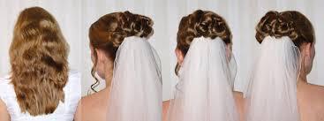 Hochsteckfrisurenen Zur Hochzeit Mit Schleier by Hochsteckfrisuren Brautfrisuren