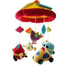 shiloh improved deluxe baby plush crib mobile crib toy newborn