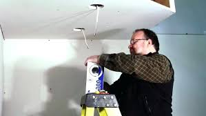 how to install led recessed lighting in existing ceiling how to install can lighting installing can lights into existing