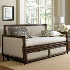 theater seating for home alligator scallop daybed with pop up trundle wayfair restaurant