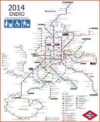 Montreal Metro Map Madrid Metro Subway Map Pinterest Madrid Subway Map And