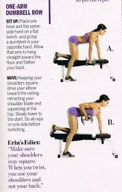 Flat Db Bench Best 25 One Arm Dumbbell Row Ideas On Pinterest Bent Over Rows