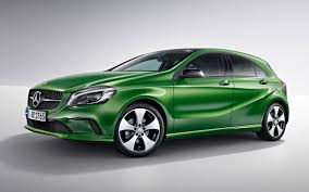 green mercedes a class sexed up merc a class unwrapped in sa iol motoring