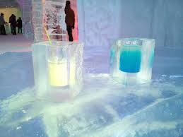 Hotel De Glace Free Drinks In Ice Cups Picture Of Hotel De Glace Quebec City