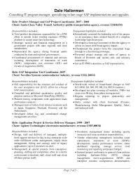 Sap Project Manager Resume Product Support Manager Resume Manager Resume Example Top 8