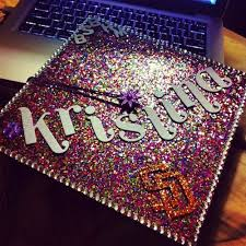 cap and gown decorations best 25 decorated graduation caps ideas on graduation