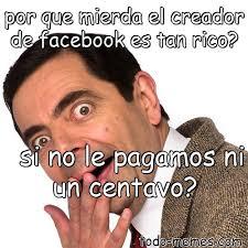 Creador Memes - arraymeme de por que mierda el creador de facebook es tan rico si n