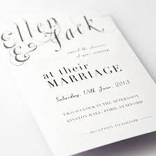best wedding programs wedding invitation make your own wedding invitations best