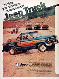 are jeeps considered trucks 1980 jeep honcho truck vintage ad isn t it you