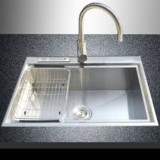 Mounted Sinks Black Top Mount Kitchen Sinks Beautify Your Kitchen With Mount