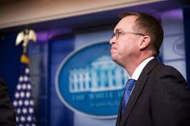 consumer bureau protection agency mick mulvaney calls for humility from consumer financial