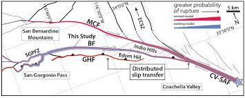 San Bernardino Ca Map Working Group Southern San Andreas Fault Evaluation Sosafe
