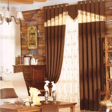 dark coffee affordable curtains and drapes bead