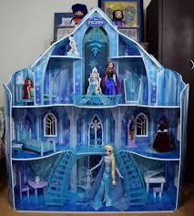 disney frozen snowflake mansion by kidkraft fully assemb u2026 flickr