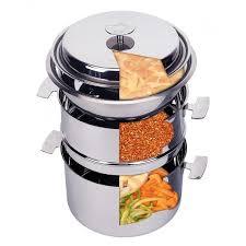 cuisiner vapeur ensemble de cuisson baumstal 16 cm cuisson basse température et