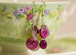 diy button earrings how to make button earrings 28 interesting diys and ideas guide