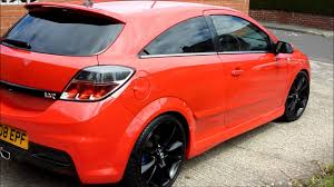 vauxhall astra vxr 2007 red astra vxr hd wax youtube