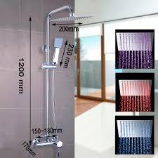 Badezimmer Badewanne Dusche Online Get Cheap Regen Dusche Led Set Aliexpress Com Alibaba Group