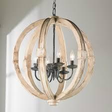 distressed wood sphere chandelier outdoor chandelier distress