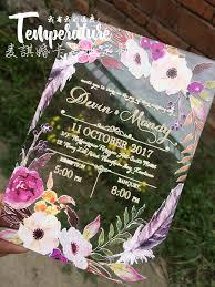 wholesale wedding invitations online buy wholesale wedding invitations acrylic from china