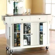 kitchen island cart with seating kitchen island cart with seating breakfast bar on wheels white