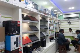 shop decoration awesome computer shop interior design ideas contemporary