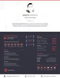 Free Eye Catching Resume Templates 30 Best Modern Design Resume Templates Simplefreethemes