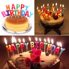 tripleclicks com happy birthday letter candles toothpick cake
