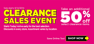clearance sales event begins today at dollar general