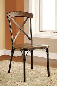 Industrial Dining Chair Furniture Of America Rizal Industrial Style