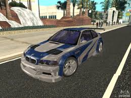 Bmw M3 Gtr - bmw m3 gtr of nfs most wanted for gta san andreas