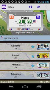 Alabama traveling games images Plates family travel game android apps on google play
