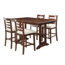 Trestle Dining Room Table Sets 07 2358 5 Pc Trestle High Dining Set Sears Outlet