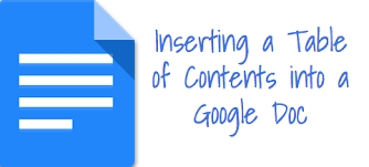 Google Doc Table Of Contents Adding A Table Of Contents In Google Docs Burlington High