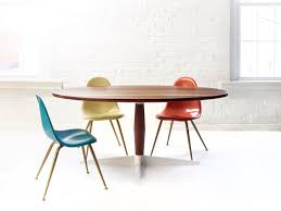 modern pedestal dining table ideas of coffee table amazing mid century modern round dining table