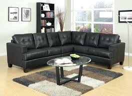 Faux Leather Sectional Sofa With Chaise Black Leather Sectional Sofa Click To Enlarge Black Faux Leather