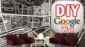 diy google map wall man vs pin 5 youtube