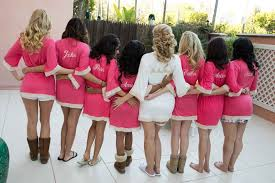 and bridesmaid robes photos personalized pink bridesmaid robes inside weddings