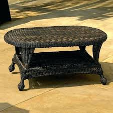 Wicker Patio Coffee Table March 2018 Chopandchuck Co