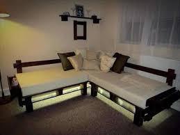 canapé avec palette canap avec palette bois best de palettes en bois en canap with