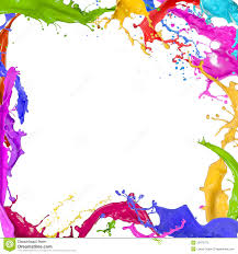 Paint by Colorful Paint Splashing Stock Photography Image 32470872