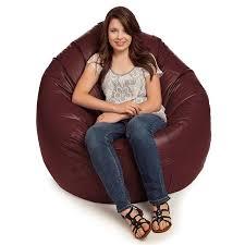 small bean bag chair for kids u0026 adults comfortable vinyl bean