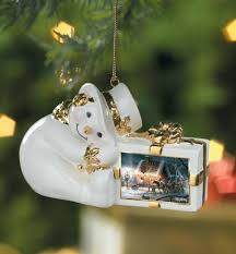 sweet memories snowman ornament by terry redlin edelma on