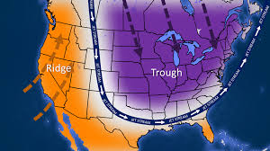 Jet Stream Map New Blast Of Arctic Air Plows In